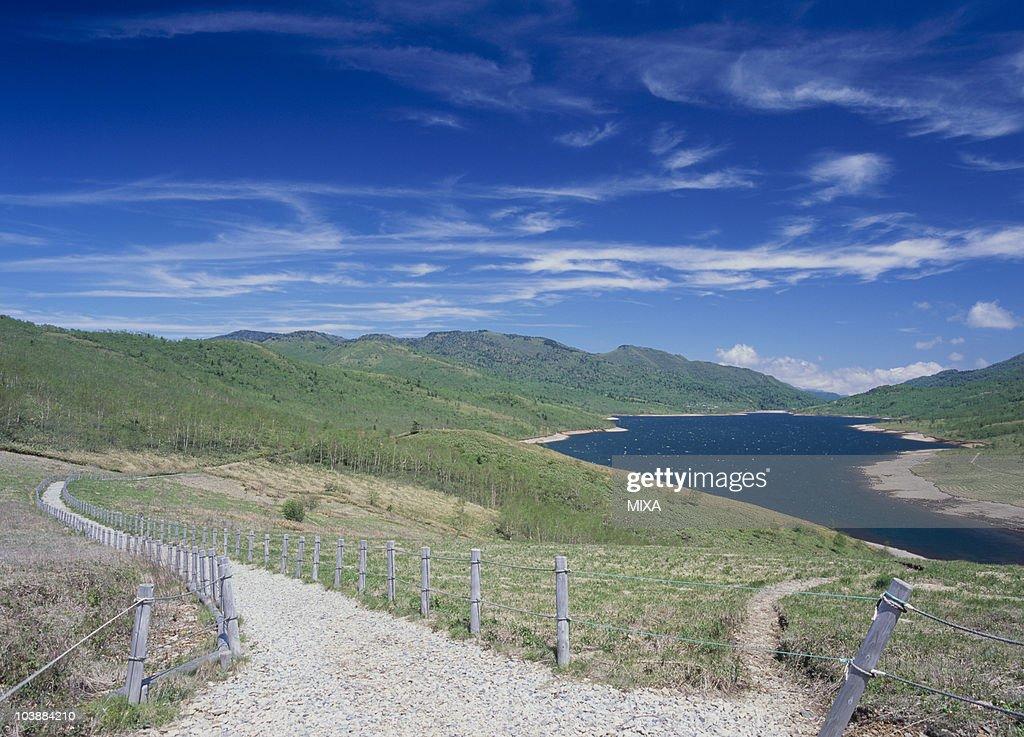 Lake Nozori, Kuni, Agatsuma, Gunma, Japan