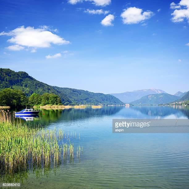 Lake Ossiach, Austria