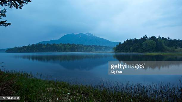 Lake Ozenuma and Mount Hiuchigatake