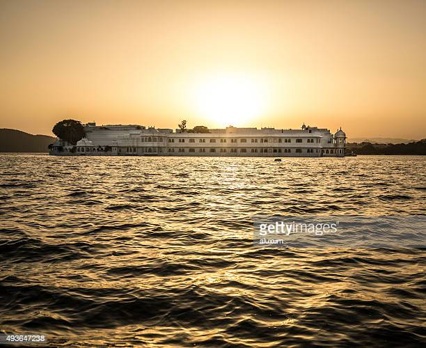 Lake Palace at sunset Udaipur India