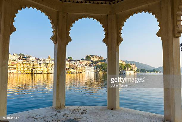 Lake Pichola in Udaipur, Rajasthan, India