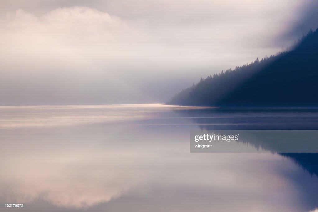Lac plansee le matin : Photo