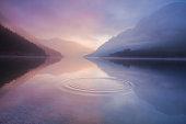 lake plansee, tirol austria