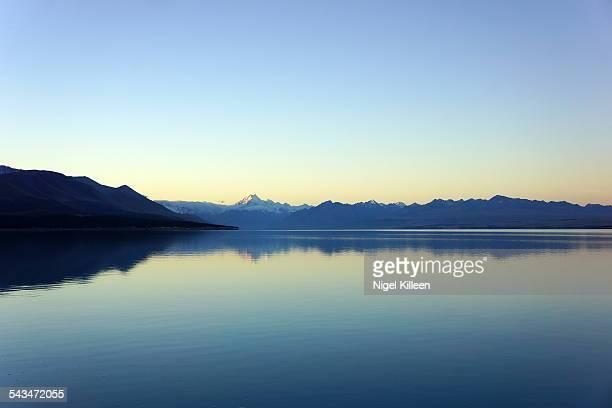Lake Pukaki and the Southern Alps