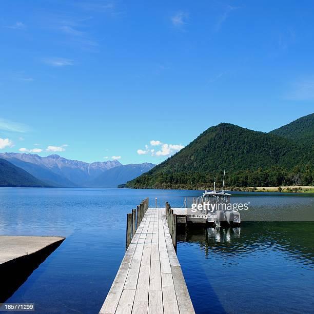 Lake Rotoroa, Nelson Lakes National Park, NZ