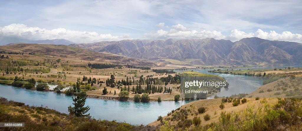 Lake Ruataniwha, New Zealand