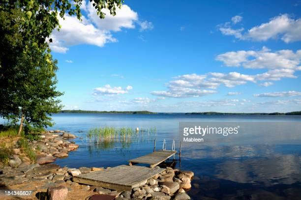 Lake Saimaa in summer.