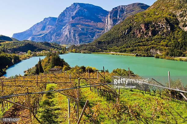 Lake Santa Massenza, Italien