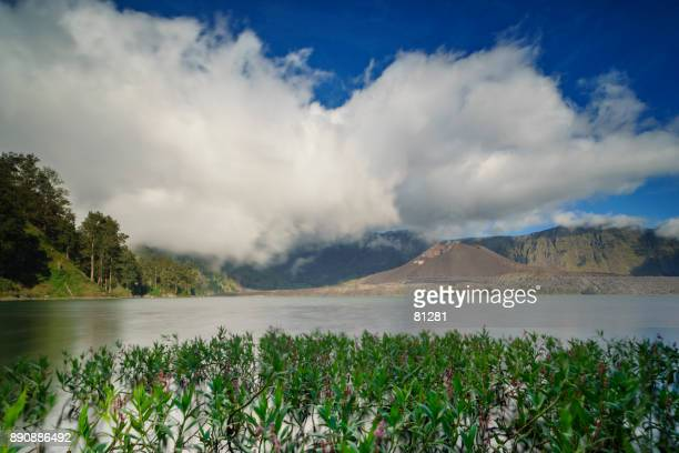 Lake Segare anak, mount Rinjani, Lombok, West Nusa Tenggara, Indonesia