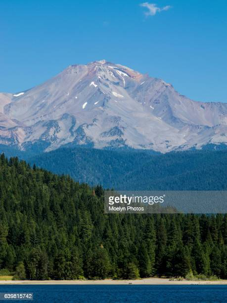 Lake Siskiyou and Mt Shasta-Vertical