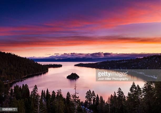 Lake Tahoe at Sunrise