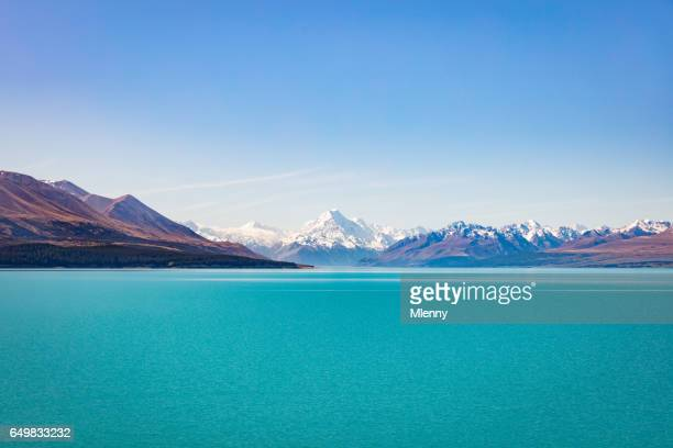 Lake Tekapo Aoraki Mount Cook New Zealand