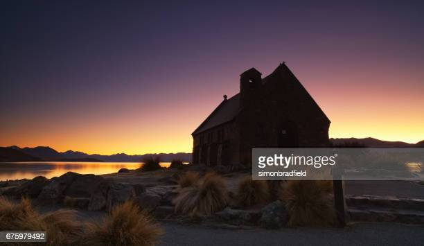 Lake Tekapo Church At Dawn