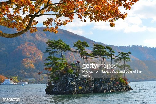 Lake Towada in Autumn