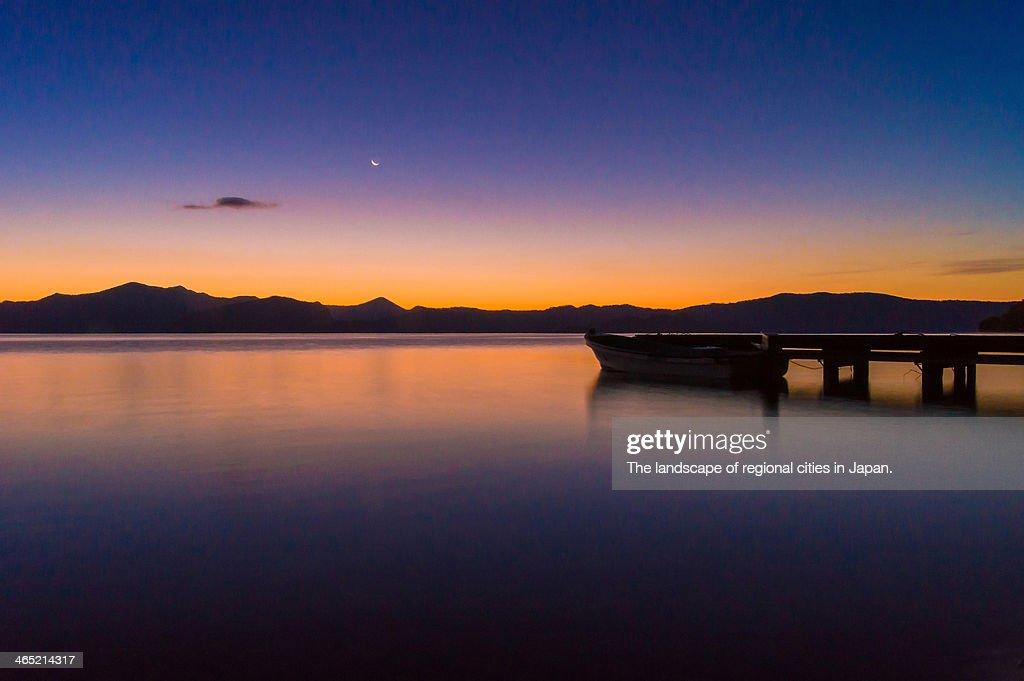 Lake Towada in the morning