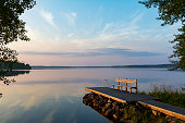 Lake view in Finland