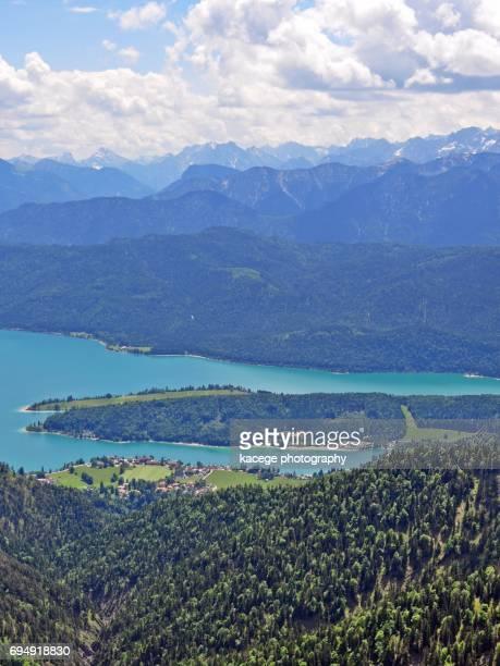 Lake Walchensee, Upper Bavaria, Germany
