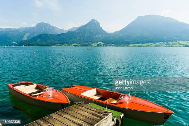 Lake Wolfgangsee, Salzkammergut, Austria