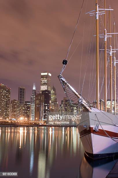 Lakefront and downtown Chicago