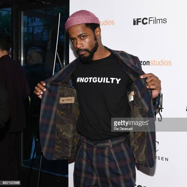 Lakeith Stanfield attends the 'Crown Heights' New York premiere at Metrograph on August 15 2017 in New York City