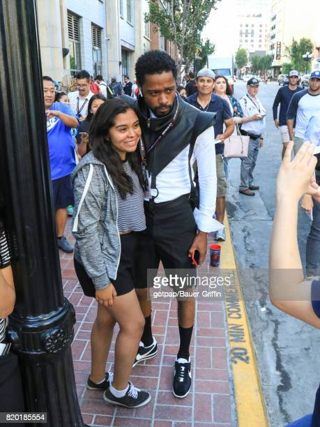 Lakeith Stanfield is seen on July 20 2017 in San Diego California