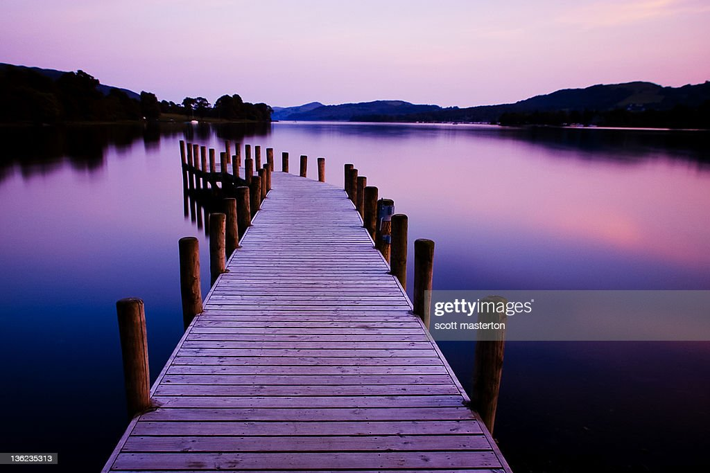 Lakelight : Stock Photo