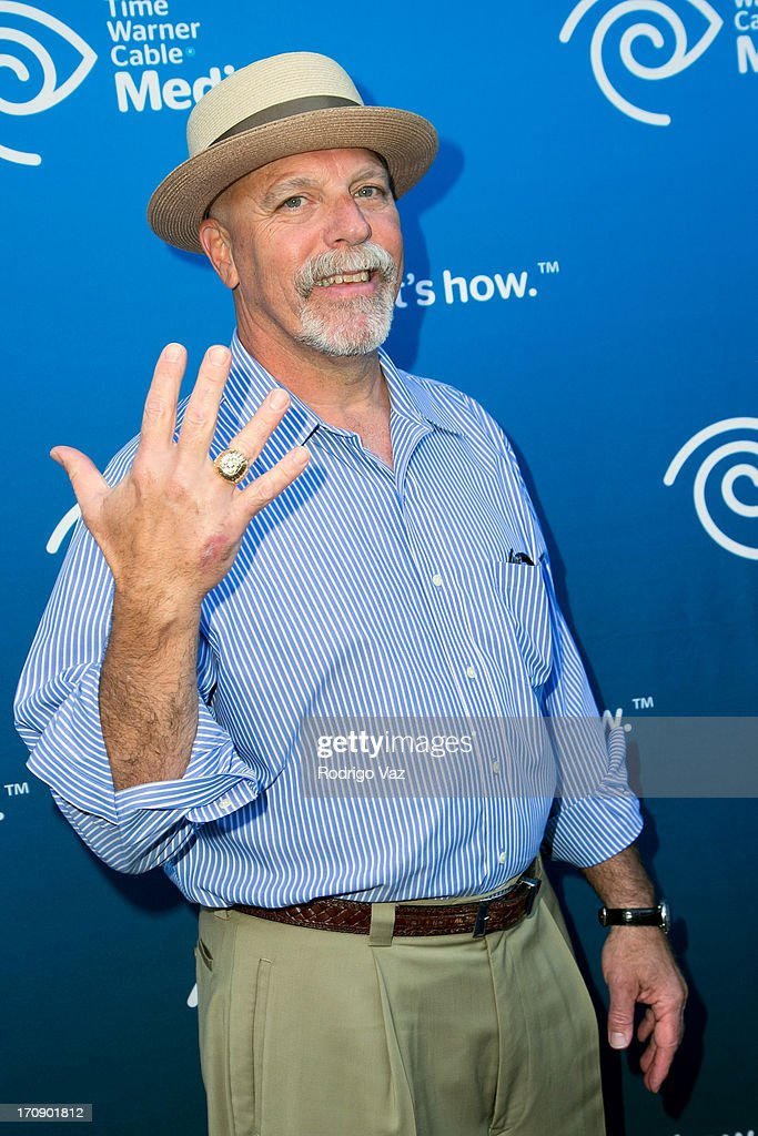 LA Lakers Athletic Trainer Gary Vitti attends the Time Warner Cable Media (TWC Media) 'View From The Top' Upfront at Vibiana on June 19, 2013 in Los Angeles, California.