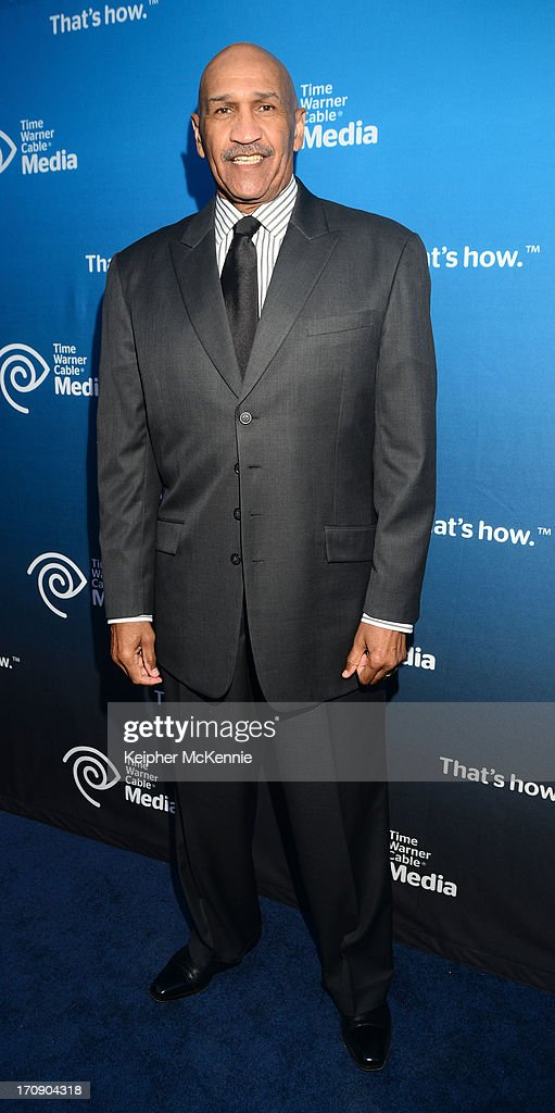Lakers commentator Stu Lantz attends Time Warner Cable (TWC Media) 'View From The Top' Upfront honoring LA Lakers' Dr. Jerry Buss at Vibiana on June 19, 2013 in Los Angeles, California. (Photo by Keipher McKennie/WireImage)WireImage)