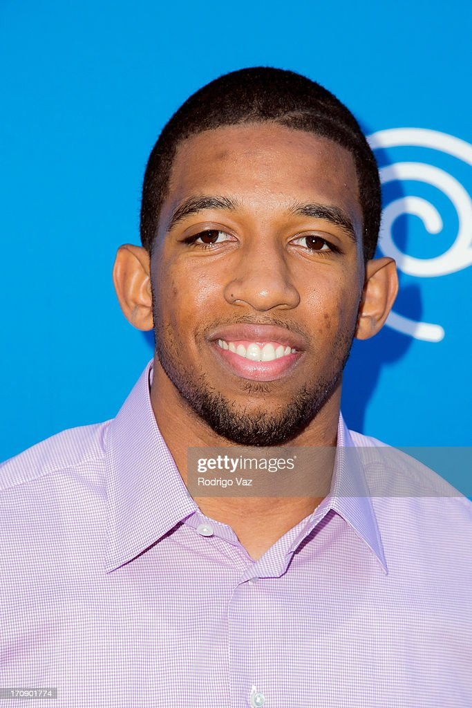 LA Lakers player Darius Morris attends the Time Warner Cable Media (TWC Media) 'View From The Top' Upfront at Vibiana on June 19, 2013 in Los Angeles, California.