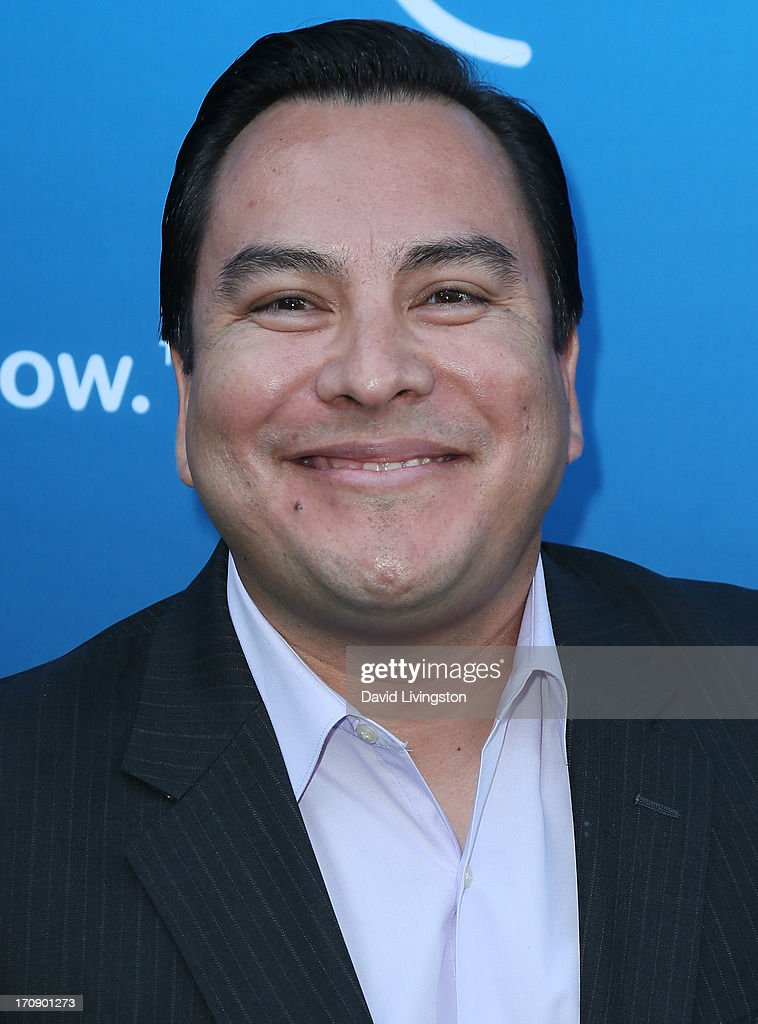 Lakers Spanish TV announcer Adrian Garcia Marquez attends Time Warner Cable Media (TWC Media) 'View From The Top' Upfront at Vibiana on June 19, 2013 in Los Angeles, California.