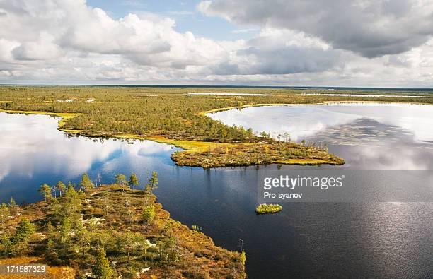 Lakes of western Siberia