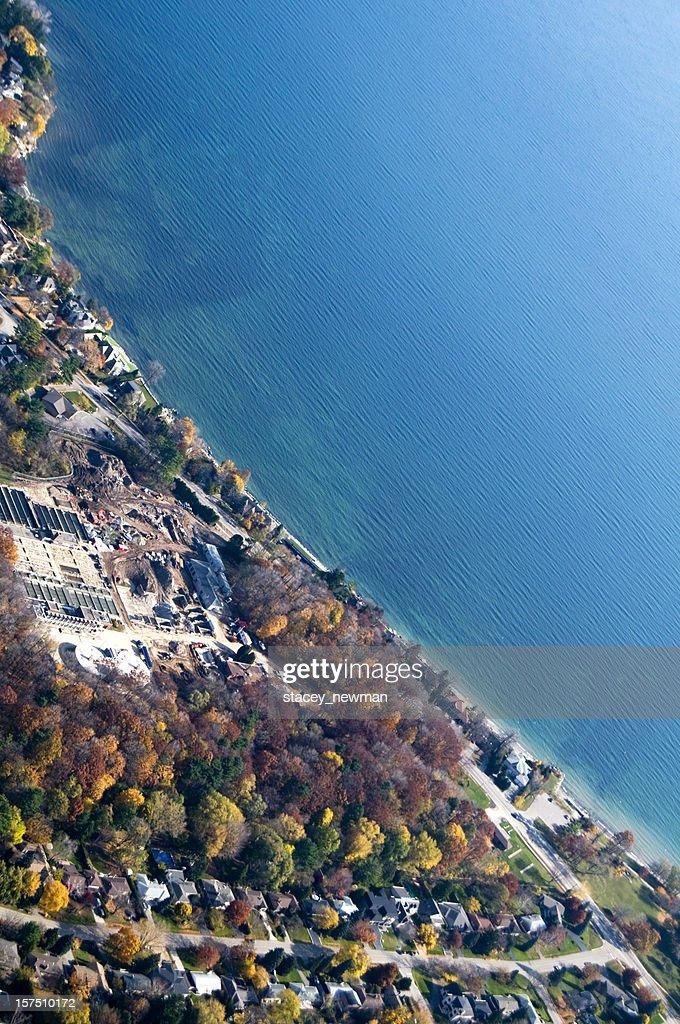 Lakeshore Aerial View