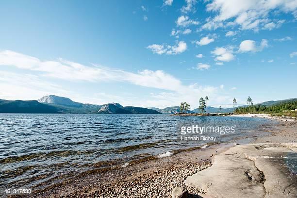 Lakeshore in Norway