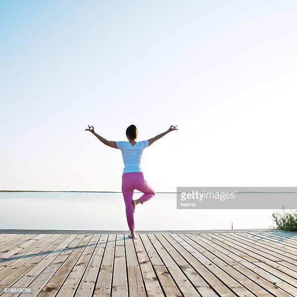 Lakeside meditation
