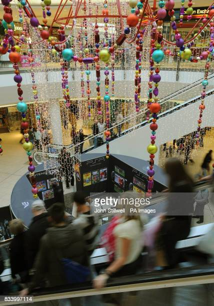 Lakeside shopping centre in Essex where shoppers were out in force with less than two weeks before the Christmas holiday