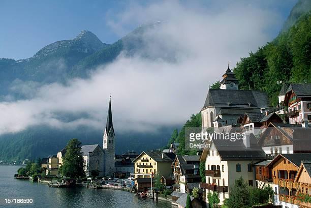 レイクサイドビレッジのハルシュタットにオーストリア