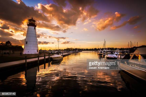 Lakeview Marina in Windsor, Ontario, Canada