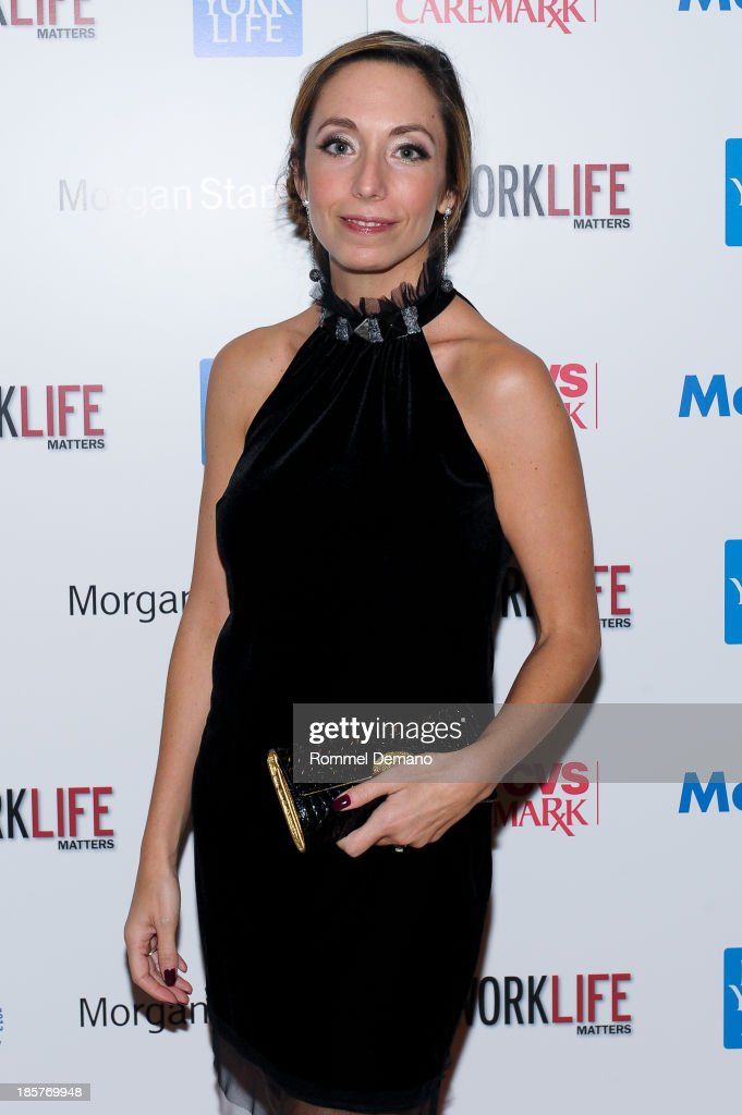 Lakey Wolff attends the 11th Annual Work Life Matters gala at Club 101 on October 24, 2013 in New York City.