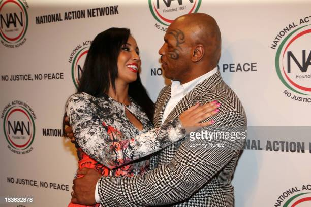 Lakiha Spicer and Former Boxing champion Mike Tyson attend the 2013 National Action Network Triumph Awards at Lincoln Center for the Performing Arts...