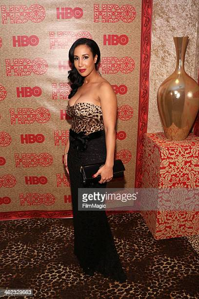 Lakiha Spicer attends HBO's Official Golden Globe Awards After Party at The Beverly Hilton Hotel on January 12 2014 in Beverly Hills California