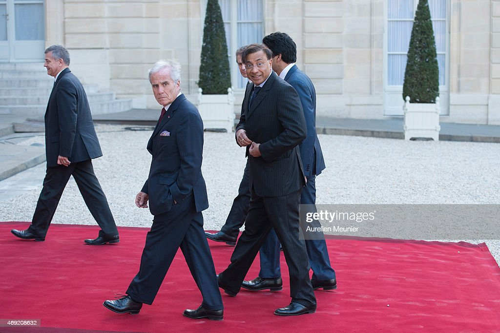 State Dinner In Honor of Indian Prime Minister Narendra Modi At Elysee Palace