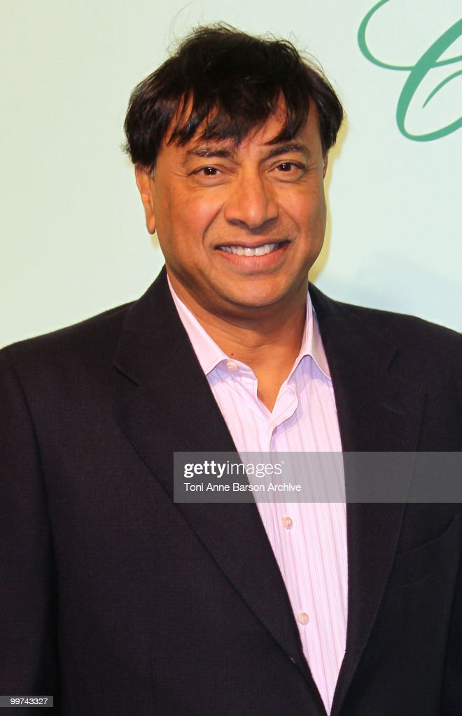 Lakshmi Mittal attends the Chopard 150th Anniversary Party at the VIP Room Palm Beach during the 63rd Annual International Cannes Film Festival on...