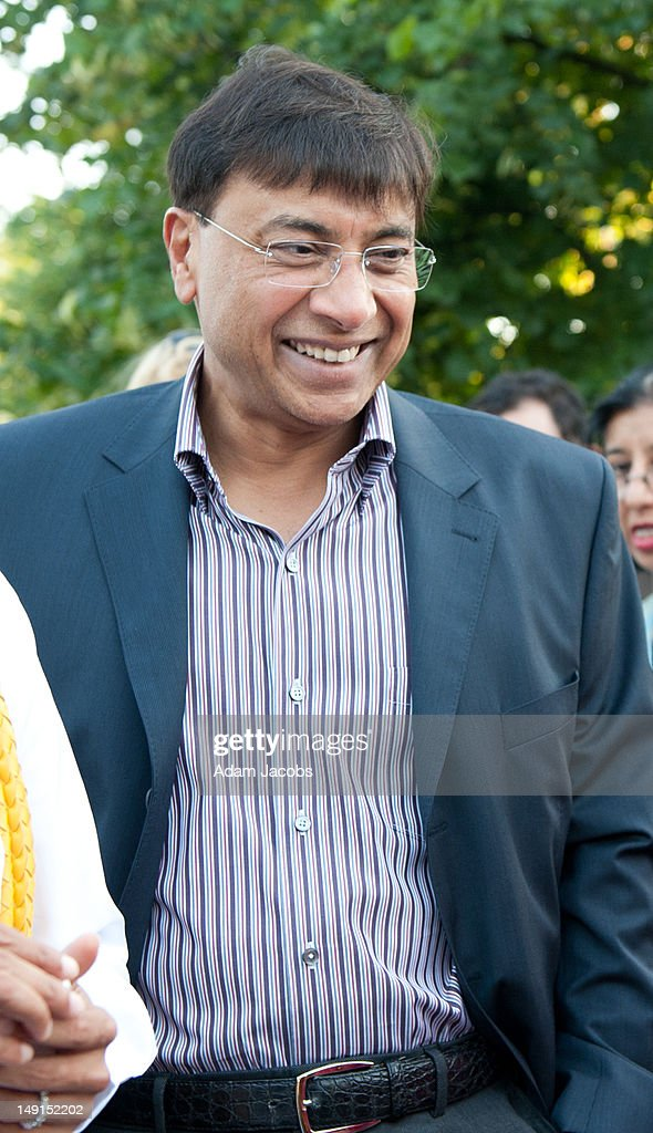 Lakshmi Mittal attends the Mittal Trust Champions Event at The Serpentine Gallery on July 23 2012 in London England