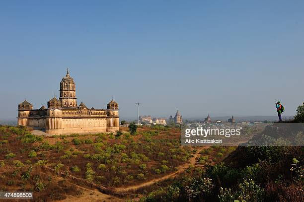 Lakshmi Temple one of Orchha's ancient sites