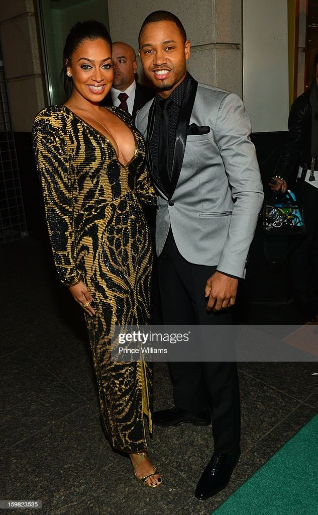 LaLa Anthony and Terrence J attend The Hip-Hop Inaugural Ball II at Harman Center for the Arts on January 20, 2013 in Washington, DC.