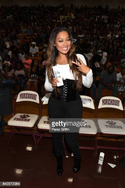 LaLa Anthony at 2017 LudaDay Celebrity Basketball Game at Morehouse College Forbes Arena on September 3 2017 in Atlanta Georgia