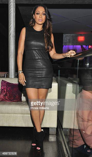 Lala Anthony attend An Eventing at Prive Hosted by LaLa Anthony at Prive on November 26 2014 in Atlanta Georgia