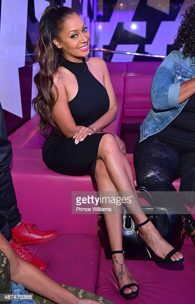 LaLa Anthony attends LudaDay weekend finale party at Gold Room on September 6 2015 in Atlanta United States