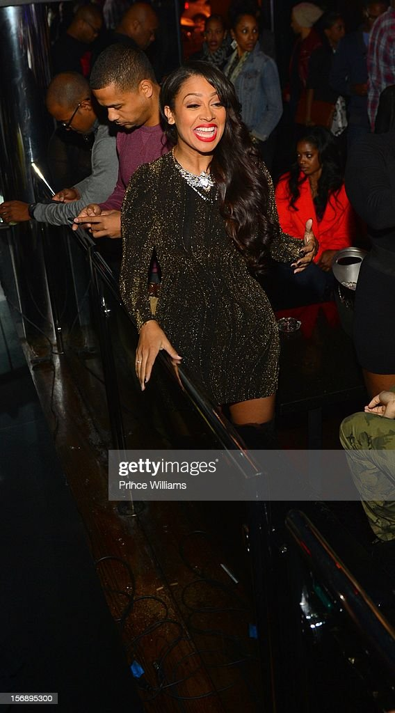LaLa Anthony attends party hosted by LaLa at Reign Nightclub on November 23, 2012 in Atlanta, Georgia.