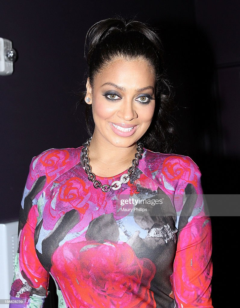LaLa Anthony attends Real Husbands of Hollywood Kick off Party at The Conga Room at L.A. Live on December 29, 2012 in Los Angeles, California.